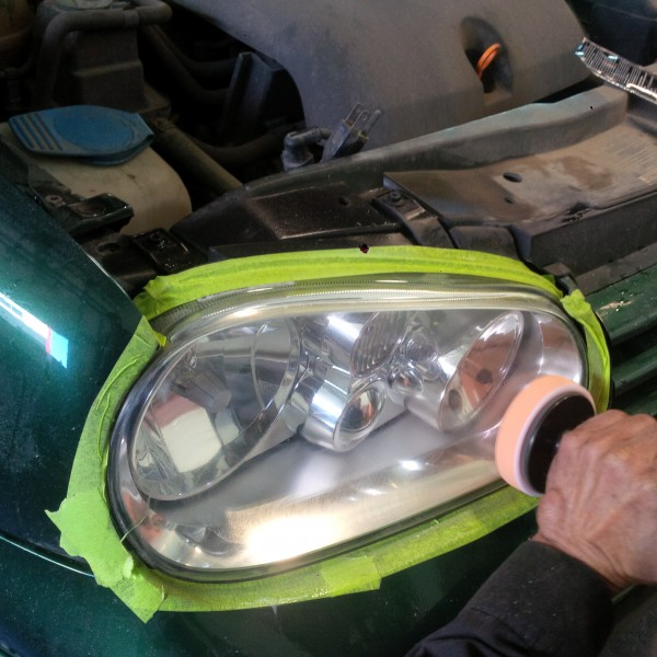 headlight lense restoration