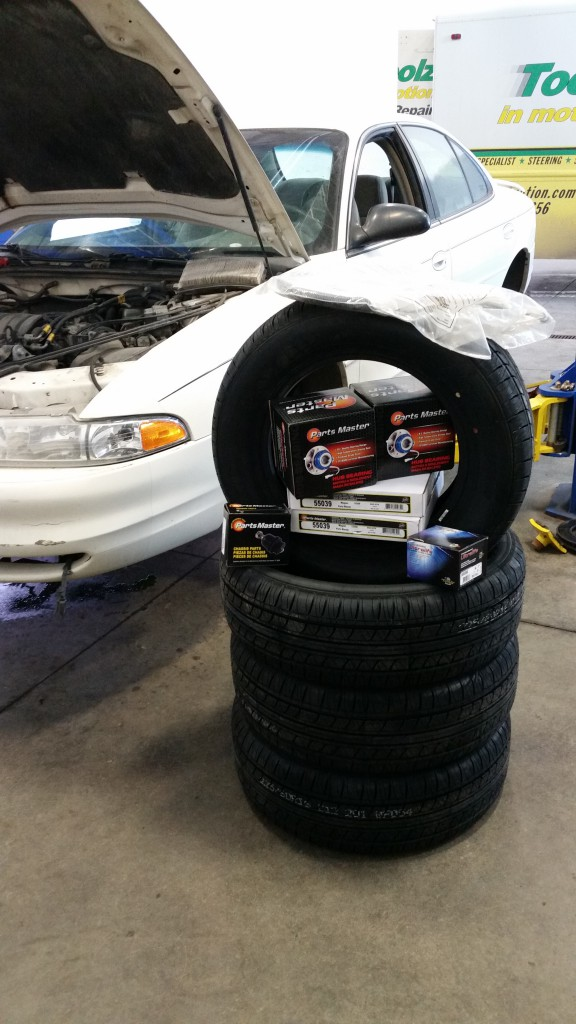 Airdrie Tire Install